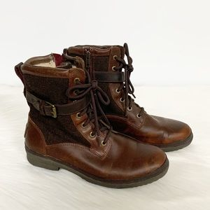 Ugg | Kesey Brown Leather Waterproof Hiking Boot 8